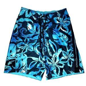 Speedo Swim Trunks Board Shorts Size L